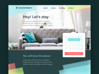 Apartment Home Page
