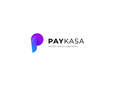 PayKasa Logo Design p logo design business logo p logo web logo logo design logo blue purple bullet p pay