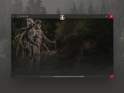 Black Ovis Homepage Redesign