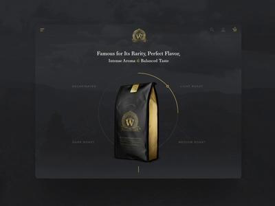 Interactive Design Concept for a Coffee Company