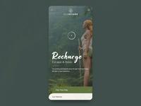 Eco Retreats UI Animation