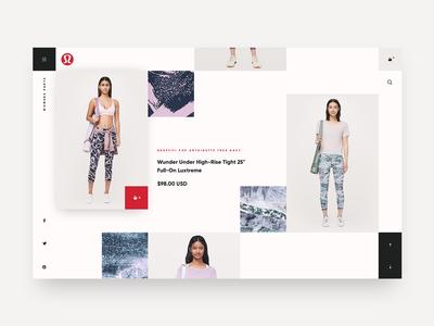 Lululemon Catalog Concept