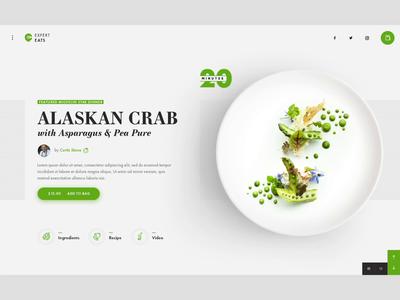 Meal Kit UI Concept ui concept animation restaurant food ecommerce ui design website