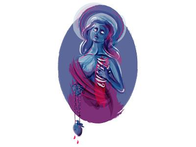 Be the Power to Compel Me bastille religion illustrator neon mississippi figure illustration