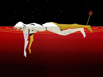 Amnesiac mississippi vector greek mythology achilles amnesiac music thom yorke graphic design design illustrator illustration radiohead
