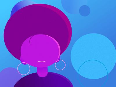 purple. vector illustration vector woman purple ilustration illustrations estudos ilustração ilustrator illustration