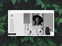 Ji Concept Landing Page