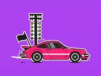 Porsche Illustration