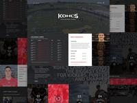 Kohls Kicking Homepage