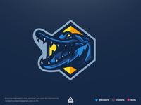 Crocodile Esports Logo