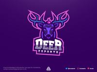 Deer Logo Esports