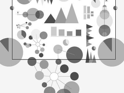 Infographic Pattern pattern trianglecharts infographic dataviz