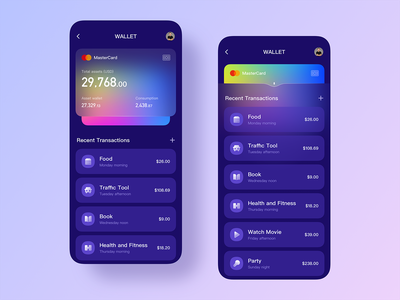 Frosted glass ui-01 design ui