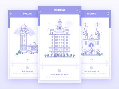 Guide pages picture vision interface illustration web design app ux ui