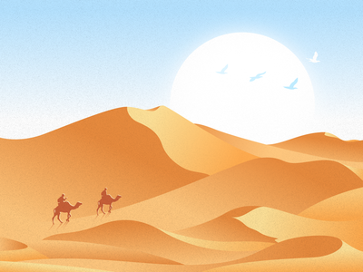 Illustration(Desert)