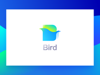 Bird icon photoshop illustrator concise visual home design app ux ui