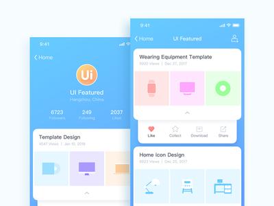 iphone_x_05 iphone-x icon photoshop illustrator concise visual home design app ux ui