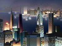 NYC Night View