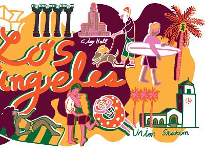Life in LA life style los angeles la
