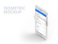 Isometric Mockup