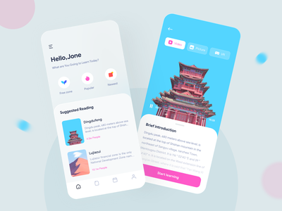 Online Hands-on Inquiry Based Learning ui  ux online video research and study research and study mobileappdesign mobile uidesign ui