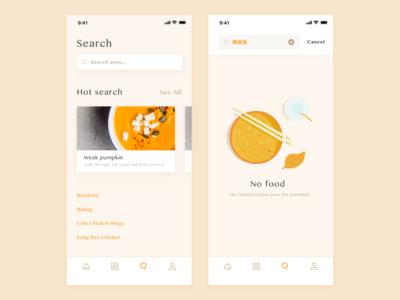 Culinary treasure ux ui pasta menu iphonex food delicious cook app