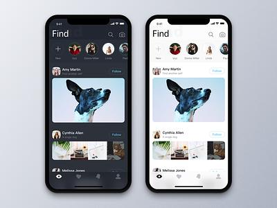 Community Sharing ux 设计 蓝色 iphonex hiwow 卡 苹果 应用 ui