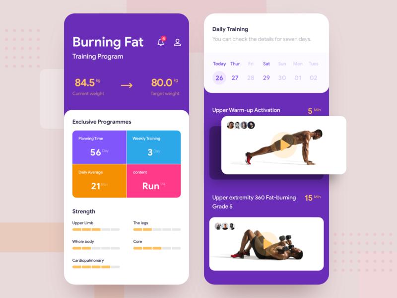 Buring Fat train plant motion intelligence health plan fat reduction card bodybuilding