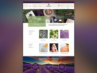Essential Oils Website