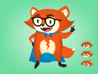 Superhero Fox