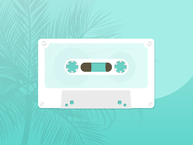 White cassette tape 80s 1980 casette tape cassette tape