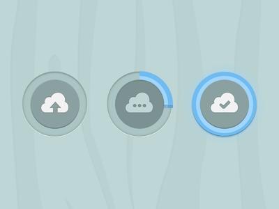Upload Buttons Game/Cartoon rebound