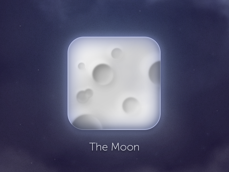 Moon Rebound For Fun moon icon ios planet space