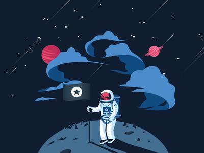 Hi Mention Cosmonaute