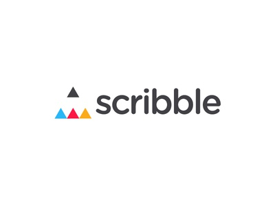 Scribble triangle draw writing drawing pen scribble