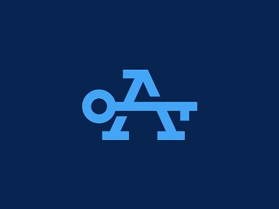 Avice Keys letter a icon symbol monogram keys key