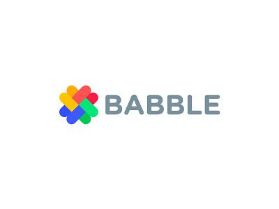 Babble shape icon b babble