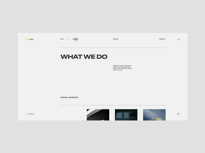 Chipsa — what we do works cases webdesign clean minimal fullscreen uiux ui ux website chipsa