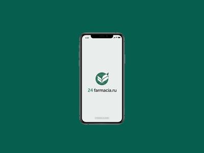 Farmacia — motion design ux ui mobileappdesign moblieapp drugs drugstore pharmacy pharma mobile app app design mobile design mobile ui mobile app motion