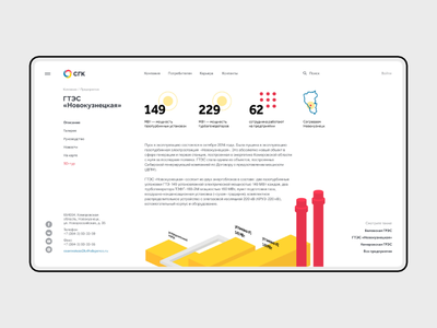 SGC —inner page minimal inner power plant chipsa fullscreen webdesign uiux ux ui