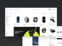 Yota online store concept