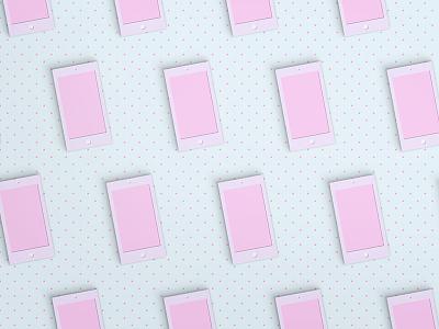 Alcatel Concept 3 alcatel lines dots texture pattern colour design dribbble craft paper set design