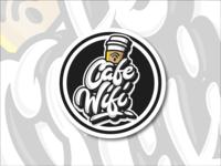 Cafe Wifi Coaster