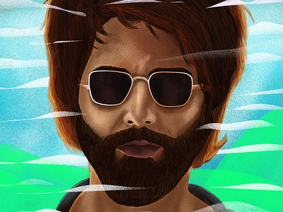 Kabir Singh -01 digital illustration portrait character digital arts wacom digital digital painting digitalart mountains motion graphics graphics design artist vector digital art graphic design design art direction artwork illustration