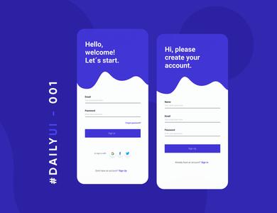 Daily UI #001