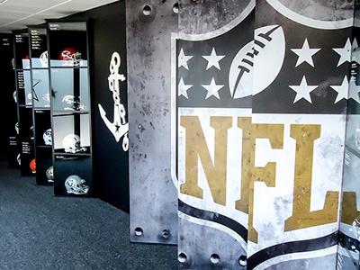 Vanderbilt Football NFL Draft Picks Lenticular Display lenticular helmets nfl football vanderbilt
