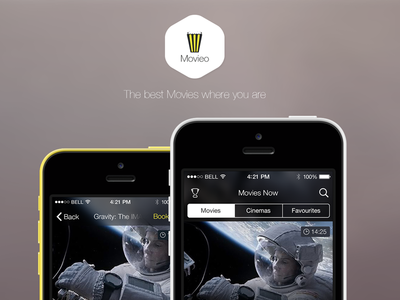 Movieo App Concept