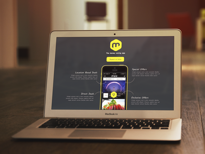 More App Landing Page