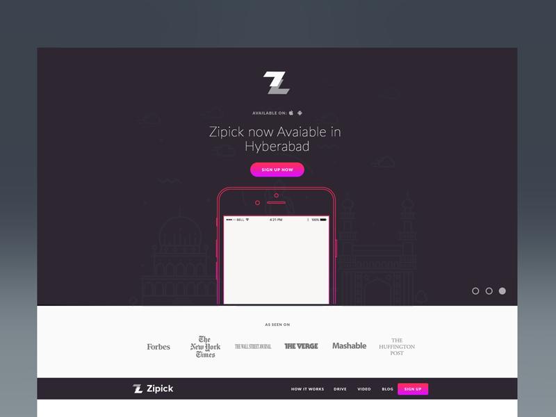 Website Concept No.3 concept web