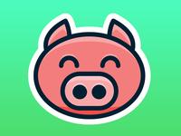 PigPal logo concept